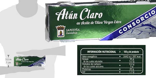 pack latas atún en aceite de oliva virgen extra Consorcio chollo