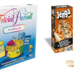 Pack Trivial Pursuit Familia + Jenga Classic de Hasbro Gaming barato en Amazon