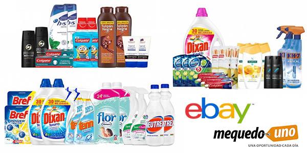 packs noviembre Mequedouno productos de limpieza y droguería baratos