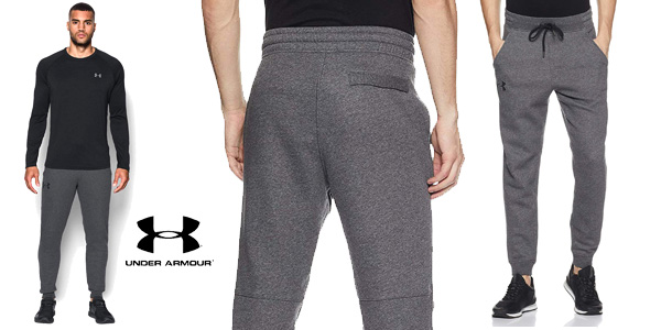 Pantalón Jogger Under Armour Rival Fitted Tapered para hombre chollazo en Amazon