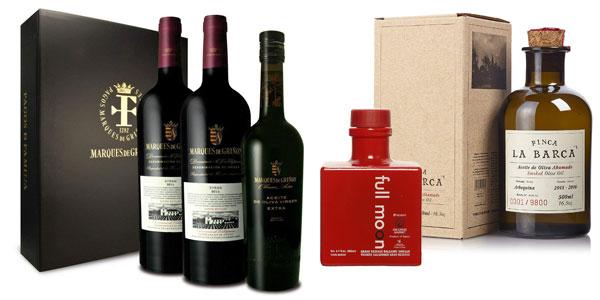 Promoción en seleccion de productos de Gourmet (jamones, ibéricos, aceites, vinos, tes) en Amazon