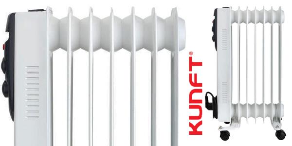 Radiador de Aceite KUNFT KOR-2689 de 1500W y temperatura regulable chollo en eBay