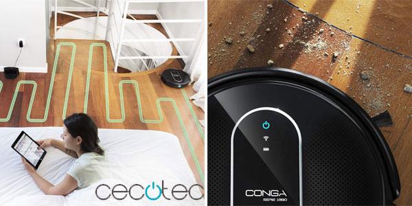 Robot Aspirador Cecotec Conga Serie 1390 chollazo en Amazon