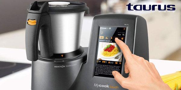Robot de cocina inteligente Taurus Mycook Touch 1600 W y con wifi chollo en Amazon