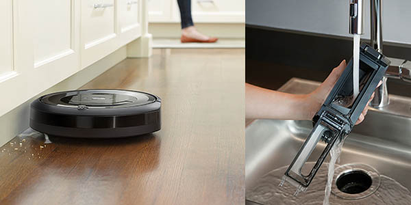 robot de limpieza Roomba E5 sistema de navegación inteligente chollo