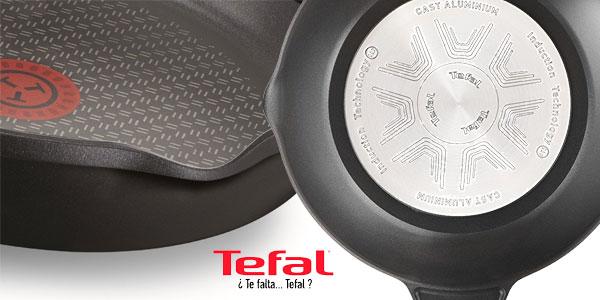 Tefal Aroma Wok de 28 cm en aluminio fundido con antiadherente titanio chollo en Amazon