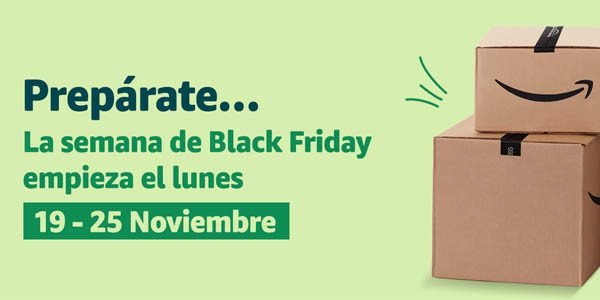 Semana Black Friday en Amazon