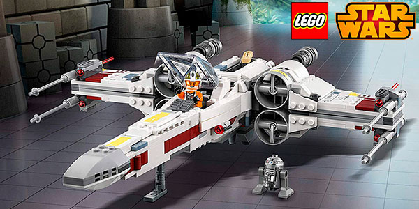 Playset Caza Estelar Ala-X de LEGO Star Wars con 4 minifiguras barato