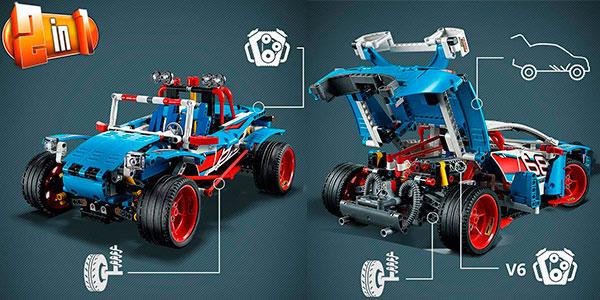 Coche de Rally LEGO Technic 2 en 1 barato