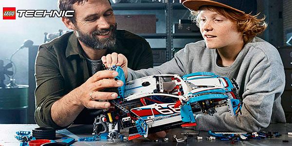 Coche de Rally LEGO Technic 2 en 1 en oferta