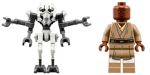 Speeder del General Grievous de LEGO Star Wars barato