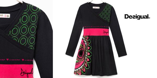 Vestido Desigual Rouge para niña barato en Amazon
