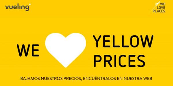 Vueling Yellow Prices vuelos baratos noviembre 2018