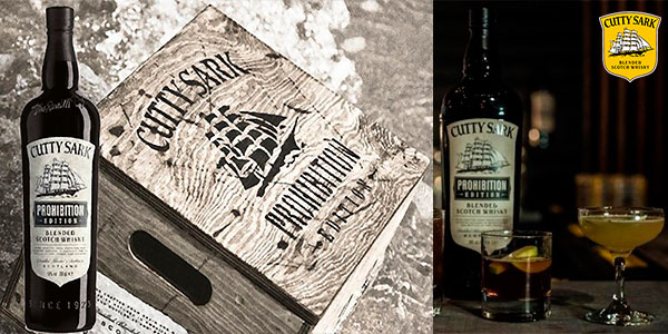 Whisky escocés Cutty Sark Prohibition (700 ml) barato