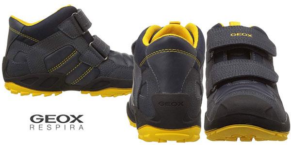 Zapatillas infantiles Geox J New Savage Boy C chollazo en Amazon