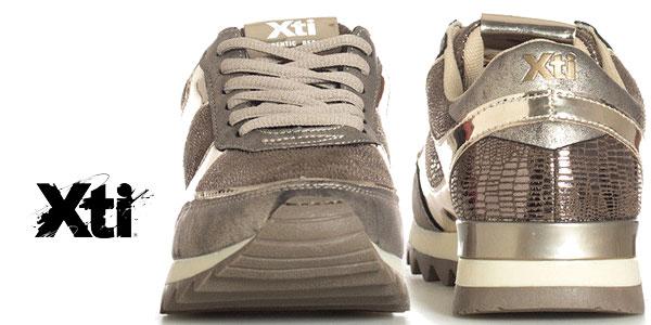 Zapatillas Xti Constanza en piel sintética para mujer chollazo en eBay
