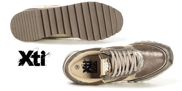 Zapatillas Xti Constanza en piel sintética para mujer chollo en eBay