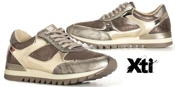 Zapatillas Xti Constanza en piel sintética para mujer baratas en eBay