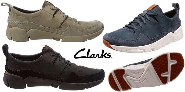 Zapatillas Clarks Triactive Run para hombre baratas