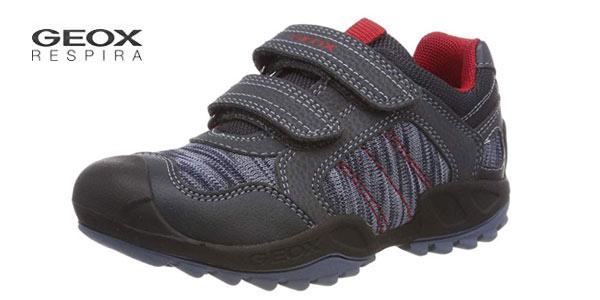 Zapatillas infantiles Geox J New Savage Boy C en oferta en Amazon
