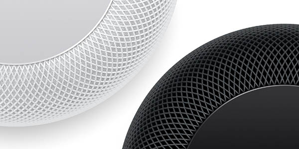 Altavoz Inteligente Apple HomePod en color blanco o negro