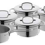 Bateria de cocina WMF Mini de 5 piezas acero inoxidable 18/10 barata en Amazon