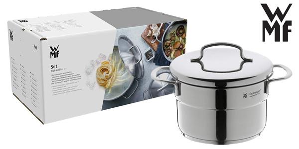 Chollo bater a de cocina mini wmf de 5 piezas por s lo 57 for Amazon bateria cocina