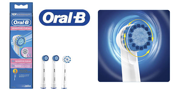 cabezales Oral-B Sensitive Clean baratos