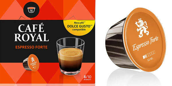 Café Royal Espresso Forte Dolce Gusto barato en Amazon