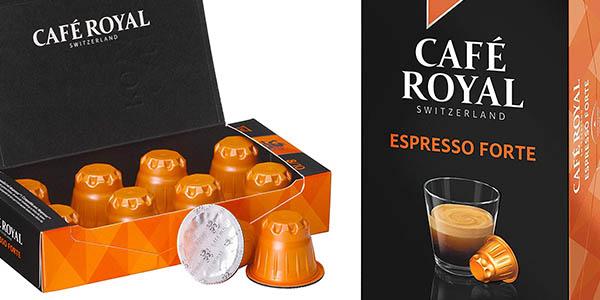 cápsulas de café Royal Espresso Forte compatibles con Nespresso chollo