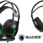 Chollo Cascos gaming Sades SA801 con micro