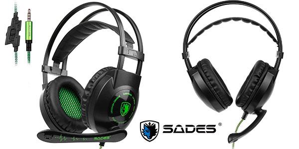 Chollo Flash Auriculares Gaming Sades Sa801 Ps4 Xbox