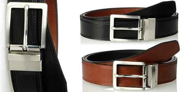 Chollo Cinturón reversible Amazon Essentials con hebilla giratoria