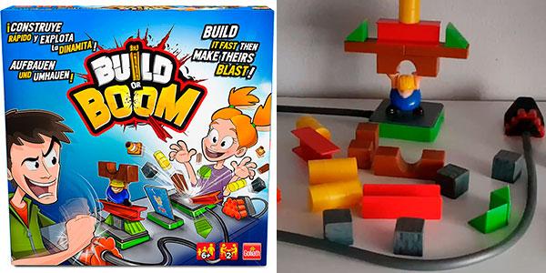 Chollo Juego de construcción Build Or Boom de Goliath