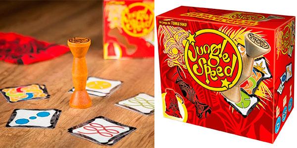Chollo Juego de cartas Jungle Speed con tótem de atención