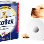 Chollo Pack de 32 rollos de papel higiénico Scottex acolchado