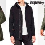 Chollo Parka Superdry New Military en 2 modelos para hombre