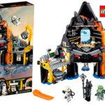 Chollo Guarida volcánica de Garmadon de LEGO Ninjago con 5 minifiguras