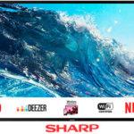 "Chollo Smart TV Sharp LC-43UI7252E UHD 4K de 43"""