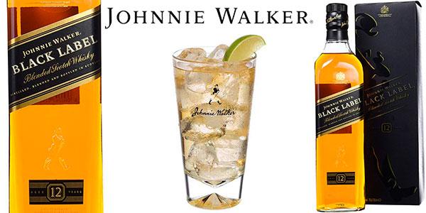 Chollo Whisky Johnnie Walker Black Label de 700 ml