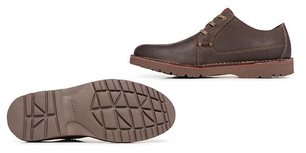 Clarks Vargo Plain zapatos para hombre chollo