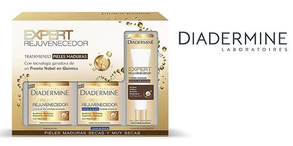 Diadermine Expert crema de día noche y corrector anti-manchas oferta