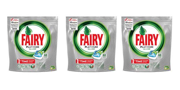 Fairy Platinum de 63 unidades barato en Amazon