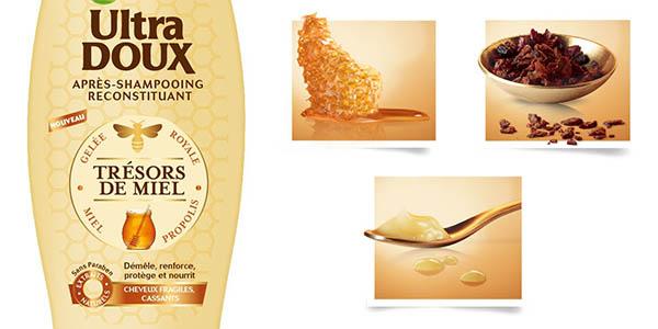 Garnier Ultra Soft Tesoros de miel acondicionador para el pelo dañado oferta
