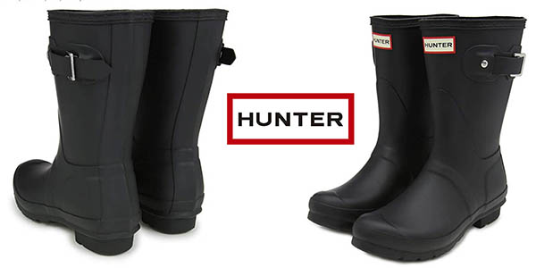 Hunter Original Short botas agua baratas