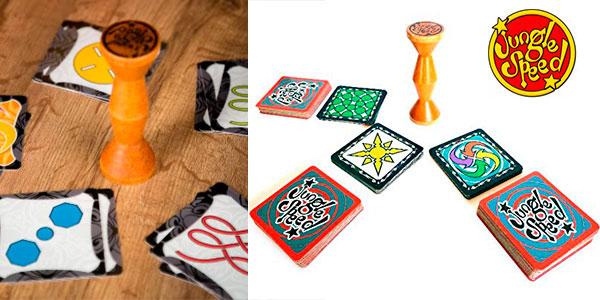 Juego de cartas Jungle Speed con tótem de atención barato