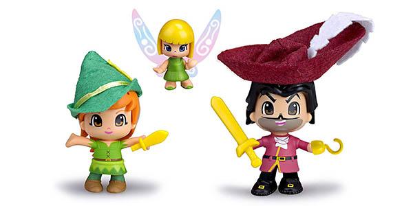 juguete Pynipon Peter Pan Campanilla y Garfio para niños de 4 años barato