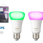 Pack 3 bombillas LED E27 Philips Hue White and Color Ambiance barato en Amazon