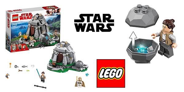 LEGO Star Wars Entrenamiento Ahch Island barato