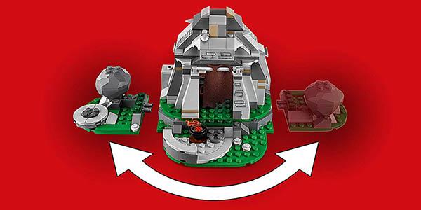 LEGO Star Wars Entrenamiento Ahch Island juego construcción oferta